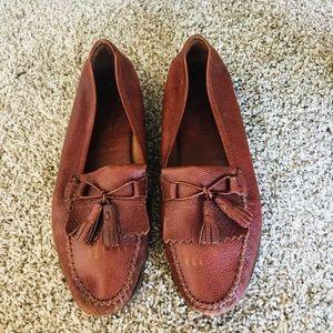 Salvatore Ferragamo Brown Leather Shoes 10D